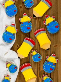 How to Make Pencil Sugar Cookies | The Bearfoot Baker