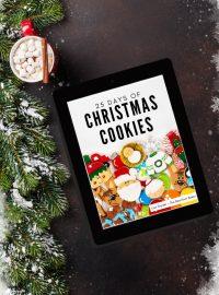 Christmas Cookie eBook, Christmas cookies, cookie decorating, decorated sugar cookies, holiday cookies