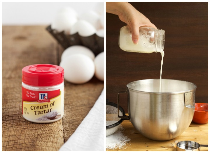 cream of tartar and a royal icing quick tip