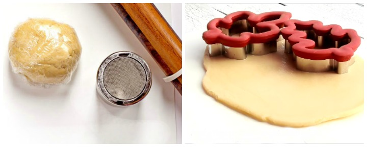 BegFlour Sifter and Perfect Shaped Cookies