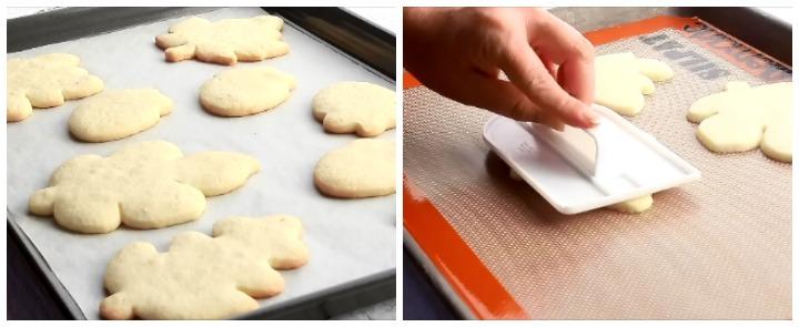 Spreading Cookie Dough and Flatten Cookies