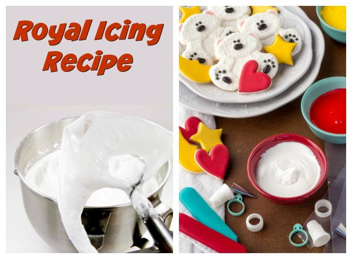 royal icing recipe, half a batch of royal icing