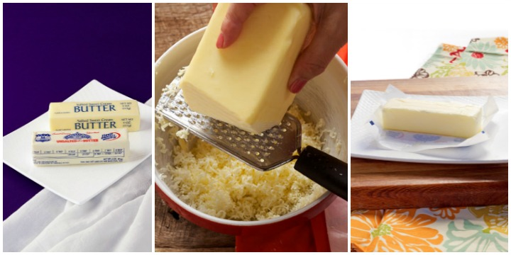 salted or unsalted butter, quickly bring butter to room temperature, soften butter