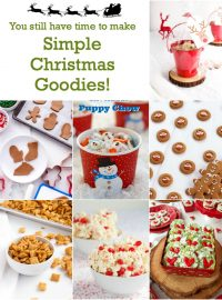 Christmas Treats, popcorn, play dough, gingerbread cookies, reindeer food