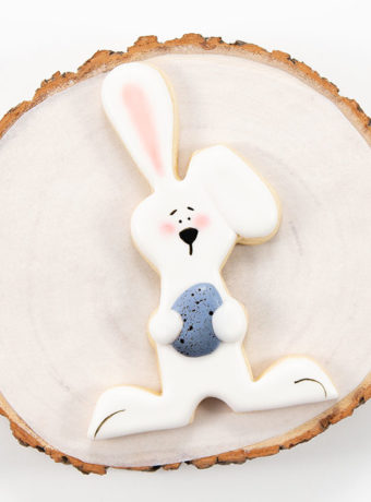 Easter bunny cookies, sugar cookies with royal icing, cookie decorating, decorated cookies