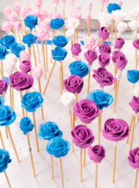 the bearfoot baker, cookie love, decorated cookies, cookie decorating, sugar cookies, cookie tutorial, food crafting, toothpick roses, royal icing roses