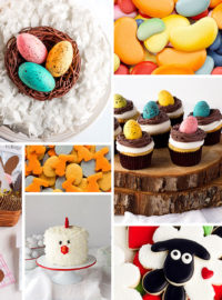 Easter, bunny, cake, cookies, fondant, treat bag,