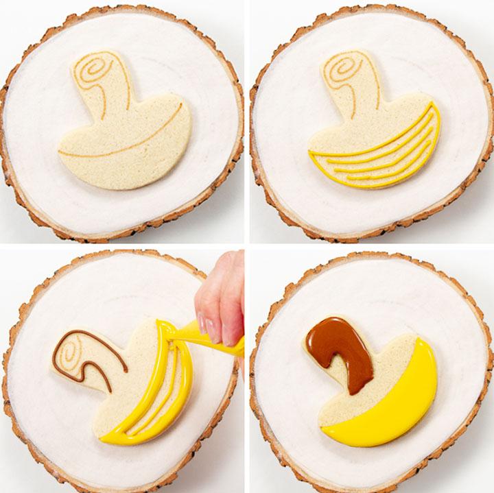 acorn cookies, fall cookies, nature cookies, royal icing, sugar cookies