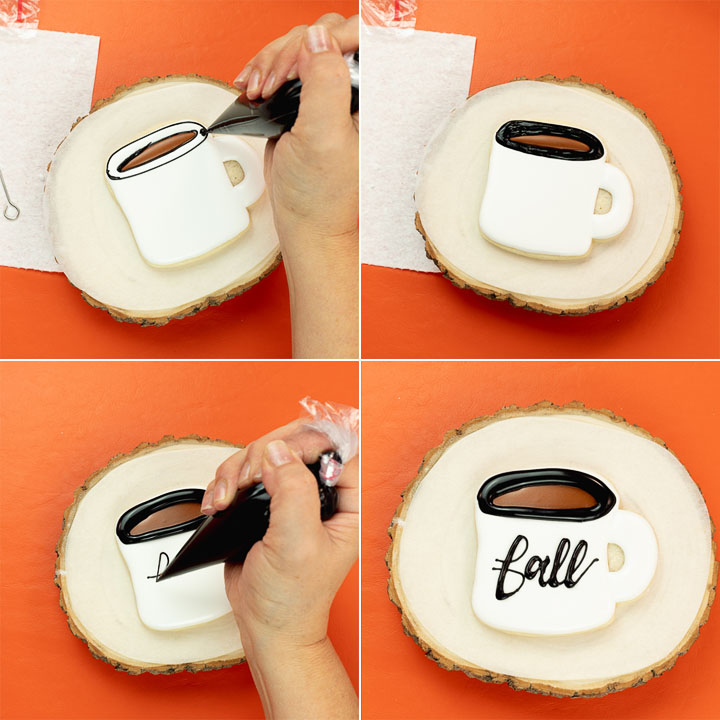 The Bearfoot Baker, fall, fall cookies, coffee, coffee cup