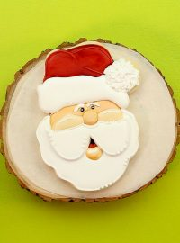 Santa cookies, The Bearfoot Baker, Christmas Cookies, Christmas, Santa Sugar Cookie, Sugar Cookie, Royal Icing