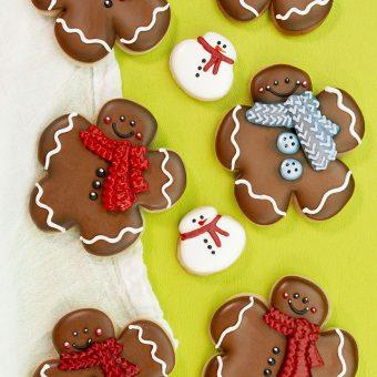 The Bearfoot Baker, Gingerbread Men, Gingerbread Cookie, Flower Cutter, Shape Shifter, Christmas Cookies