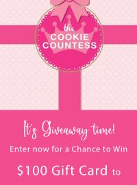 Merry Christmas, giveaway, the Cookie Countess, cookie supplies, sugar cookies, royal icing, The Bearfoot Baker