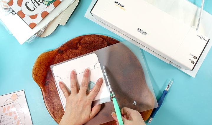 laminated cash envelopes, the bearfoot baker, cash envelopes, planner