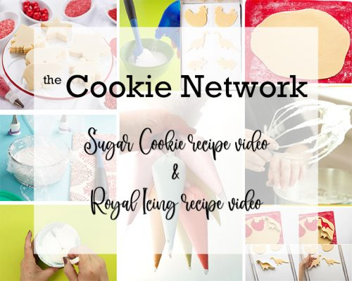 sugar cookie recipe, ebook, royal icing, royal icing video, how to, the bearfoot baker, mind-blowing cookie decorating