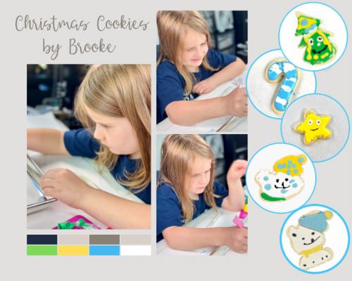 Christmas Cookies, sugar cookies, royal icing, the Bearfoot Baker