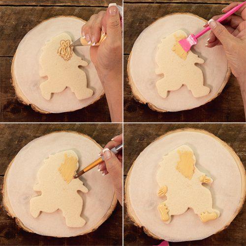 The Bearfoot Baker, Bigfoot, Sugar Cookies, Royal Icing, Sasquatch cookies, Sasquatch, Bigfoot Cookies, decorated cookies
